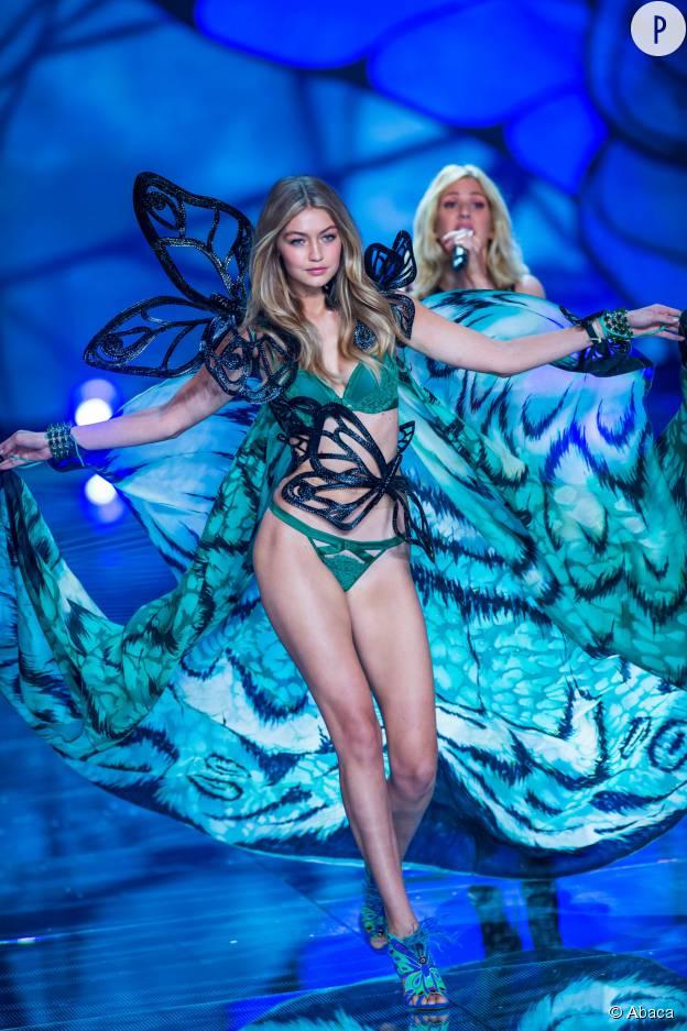 Gigi Hadid, recrue 2015 toute en rondeurs de Victoria's Secret.