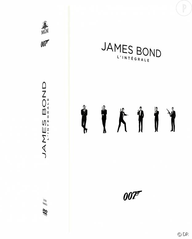 L'intégral James Bond.