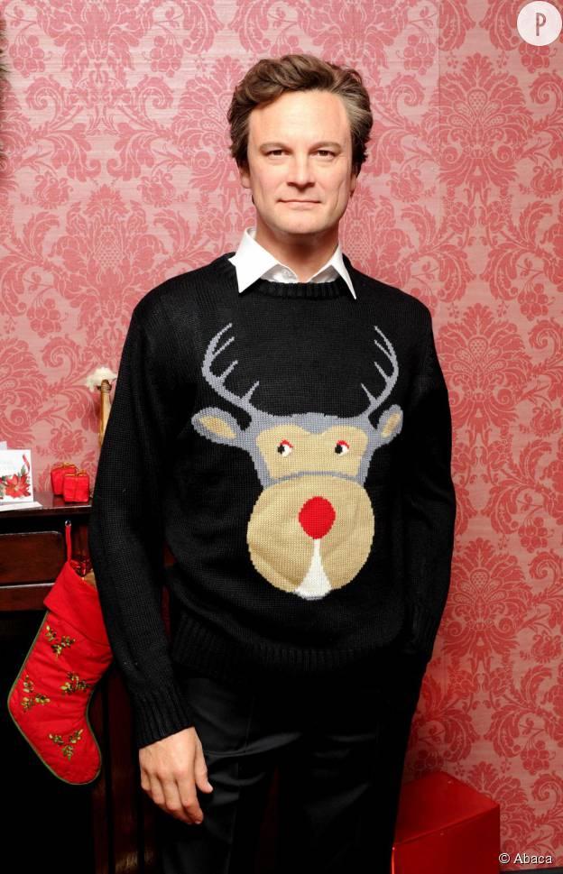 Colin Firth et son impassibilité.