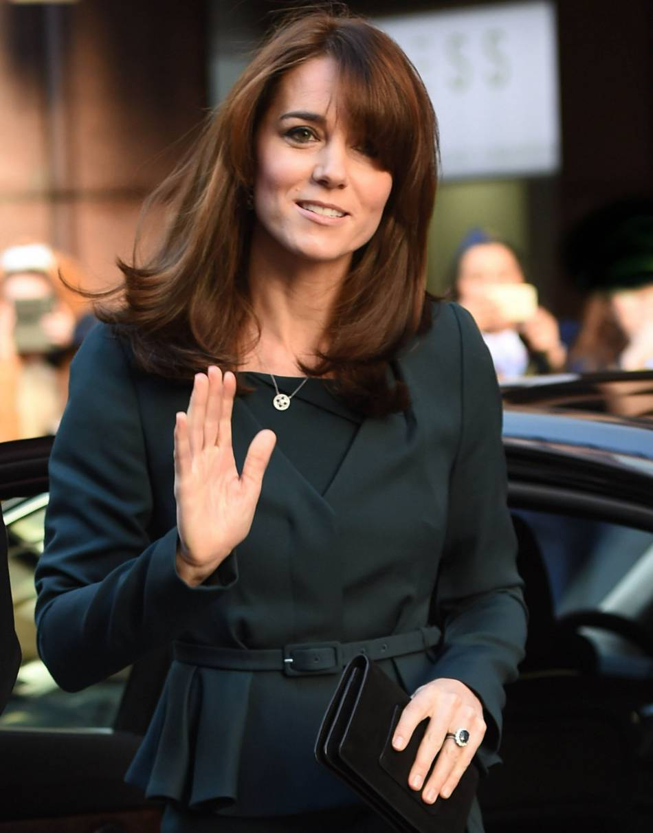 Cheveux longs kate middleton