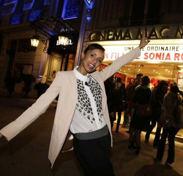Sonia Rolland au cinéma le Mac Mahon à Paris ce mercredi 17 février 2016.