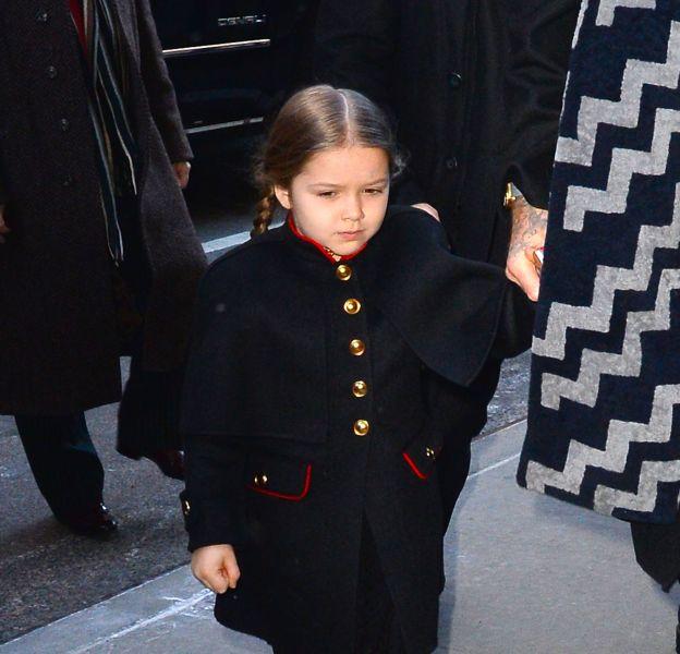 À 4 ans, Harper Beckham possède un véritable sens du style.