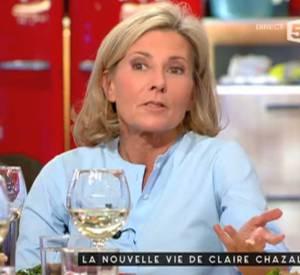 """Claire Chazal s'est exprimée sur son éviction de TF1 et sur sa remplaçante, Anne-Claire Coudray, dans """"C à vous""""."""