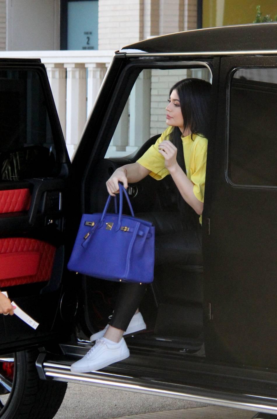 De passage à New-York, elle a notamment assisté au défilé de son beau-frère Kanye West en compagnie du clan Kardashian.