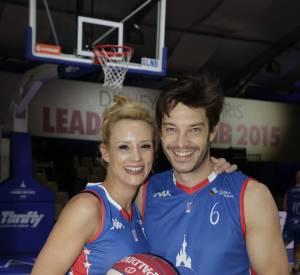 Elodie Gossuin et son mari Bertrand Lacherie.