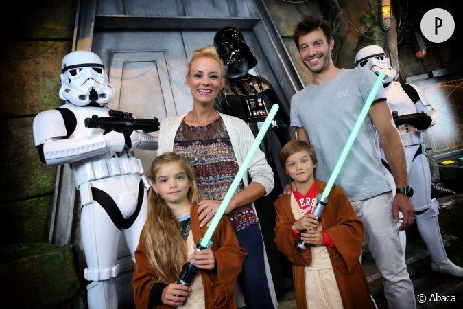 Elodie gossuin et bertrand ont quatre enfants ici les jumeaux rose et jules - Elodie gossuin et ses enfants ...