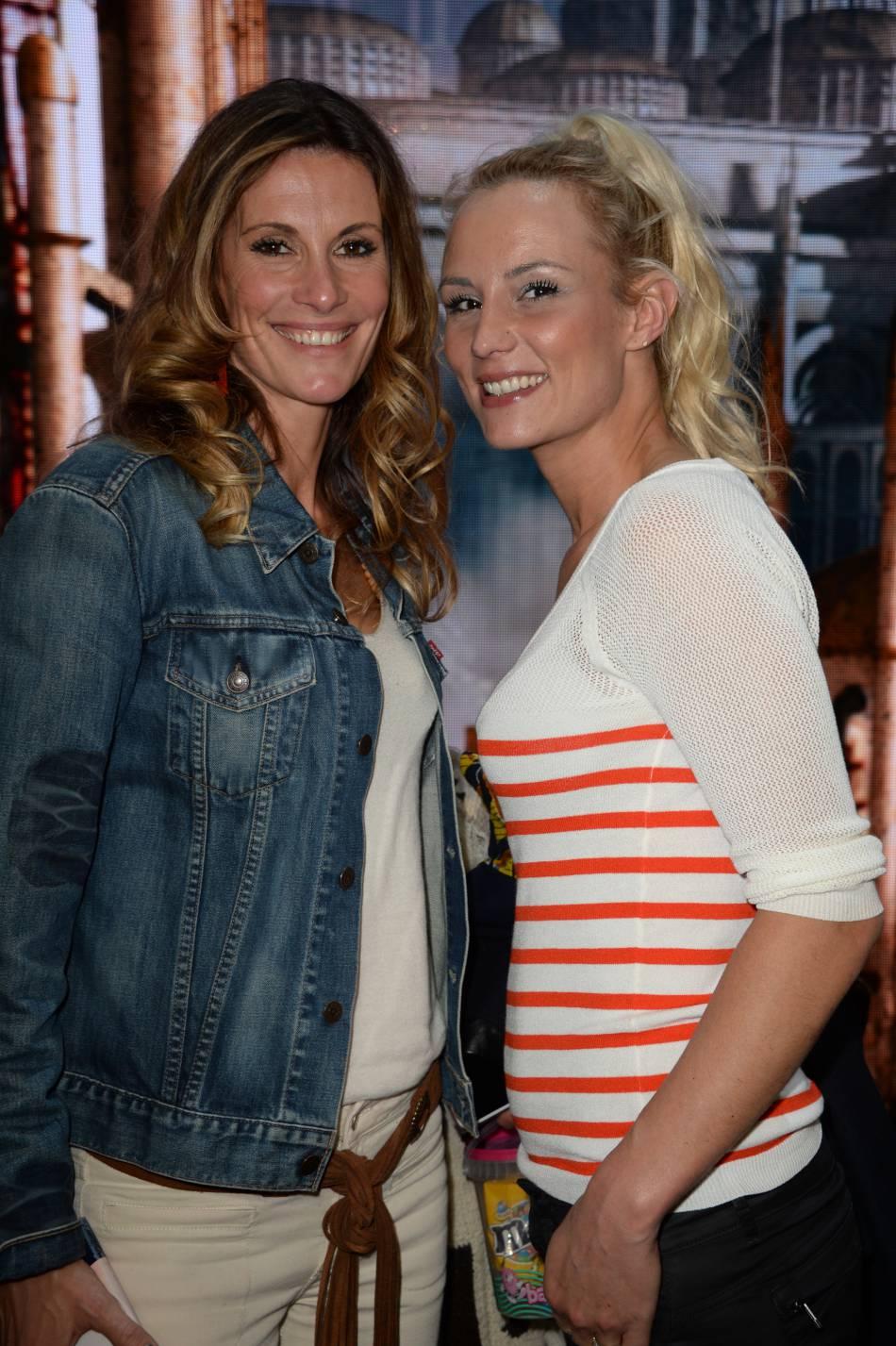 Elodie Gossuin et Sophie Thalmann : deux anciennes reines de beauté.
