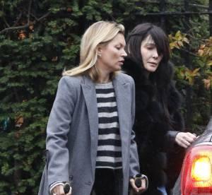 Kate Moss : blessée, elle tire un trait sur la Fashion Week de Londres