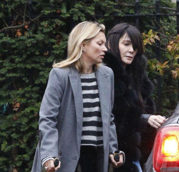 Kate Moss n'est pas revenue entière de son séjour à Verbier.