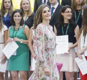 Letizia d'Espagne : robe fleurie et légère pour une sortie officielle