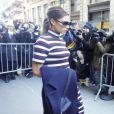 Victoria Beckham à la sortie du restaurant Balthazar à New York, après le défilé de Victoria, le 14 février 2016.