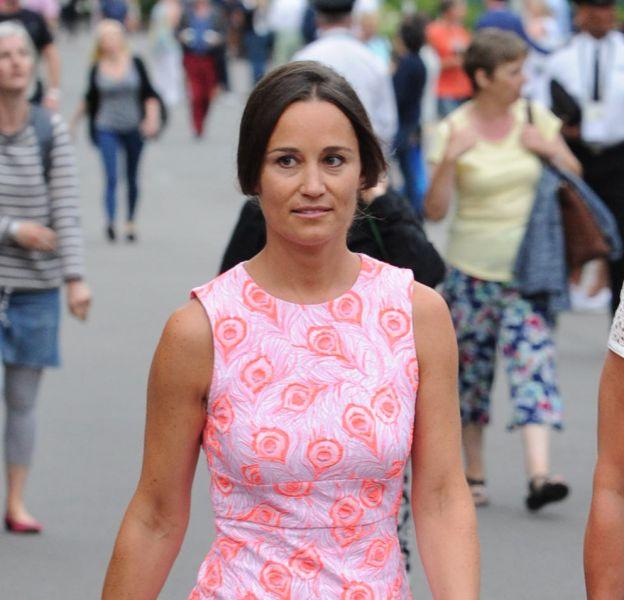 Pippa Middleton à Wimbledon, ce 6 juillet 2016.