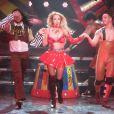 Britney Spears a enflammé la scène du Planet Hollywood à Las Vegas.