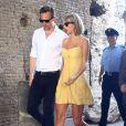 Le couple a été en séjour romantique à Rome il y a quelques jours.