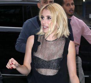Emma Roberts était au top de la sensualité à New York.