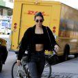 Toujours à la pointe des tendances, elle signe un nouveau sans faute dans les rues de New York.
