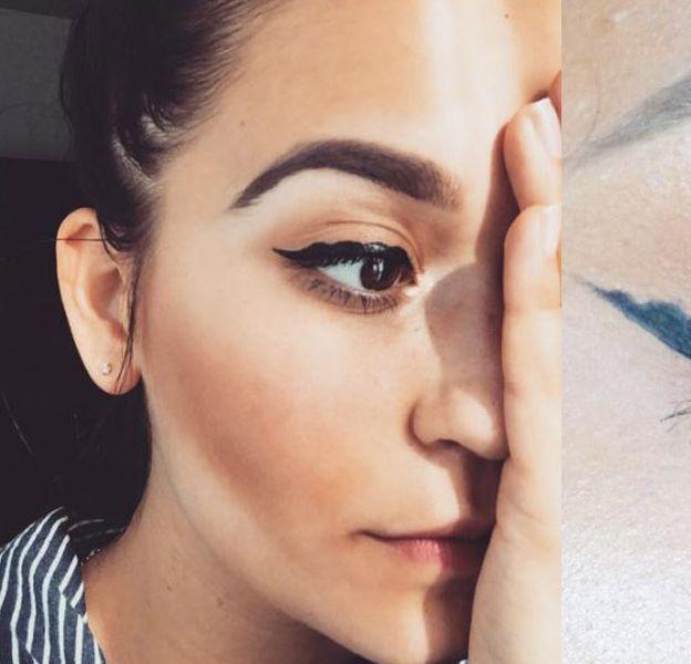 La tendance bubble eye-liner explose sur Instagram.