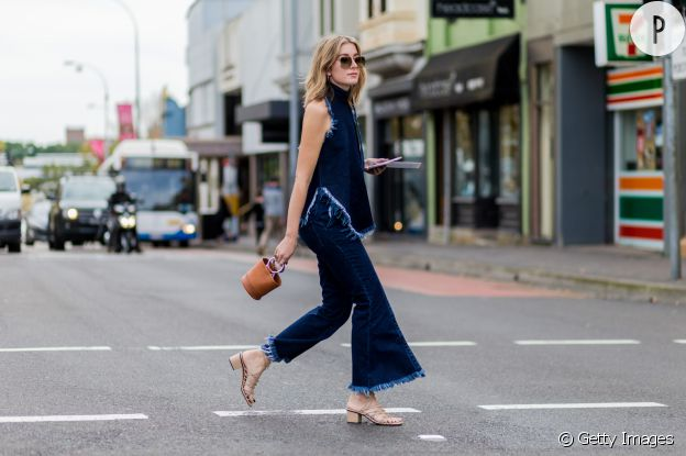 Un street style totalement denim.