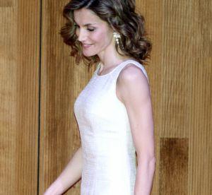 Letizia d'Espagne : après Kate et Charlène, elle se met à la petite robe blanche