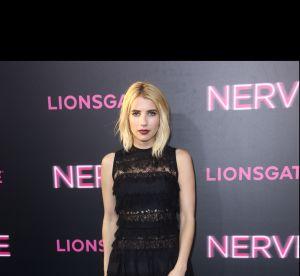 Emma Roberts à l'avant-première de Nerve : sublime dans une robe Elie Saab