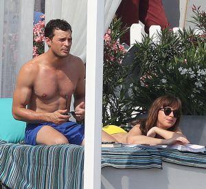 Dakota Jonhson et Jamie Dornan sur la plage de Saint-Jean-Cap-Ferrat pour le troisième volet de la saga.