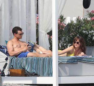 Dakota Jonhson s'affiche topless sur le tournage du dernier volet de la saga.