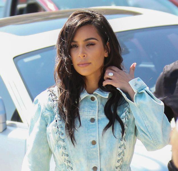 Kim Kardashian à Los Angeles le 13 juillet 2016.