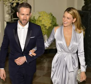Blake Lively et Ryan Reynolds à la Maison-Blanche.