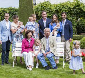 La famille royale suédoise au grand complet depuis le baby-boom !