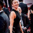 A Cannes, le mannequin a illuminé le tapis rouge.