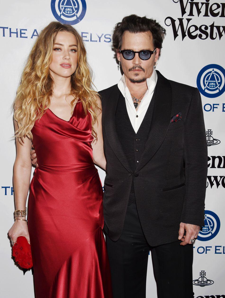 Amber Heard et Johnny Depp, un divorce qui s'éternise.