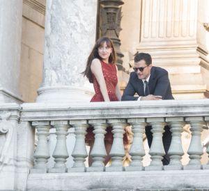 Dakota Johnson aux côtés de Jamie Dornan pour terminer le tournage du dernier film de la trilogie.