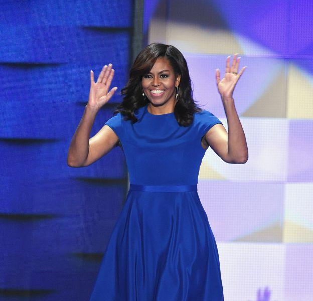 Michelle Obama a pris la parole pour soutenir Hillary Clinton lundi soir à la convention démocrate.