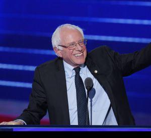 Bernie Sanders, l'adversaire d'hier devenu l'allié d'aujourd'hui, à lui aussi tenu à apporter son soutien à Hillary Clinton.