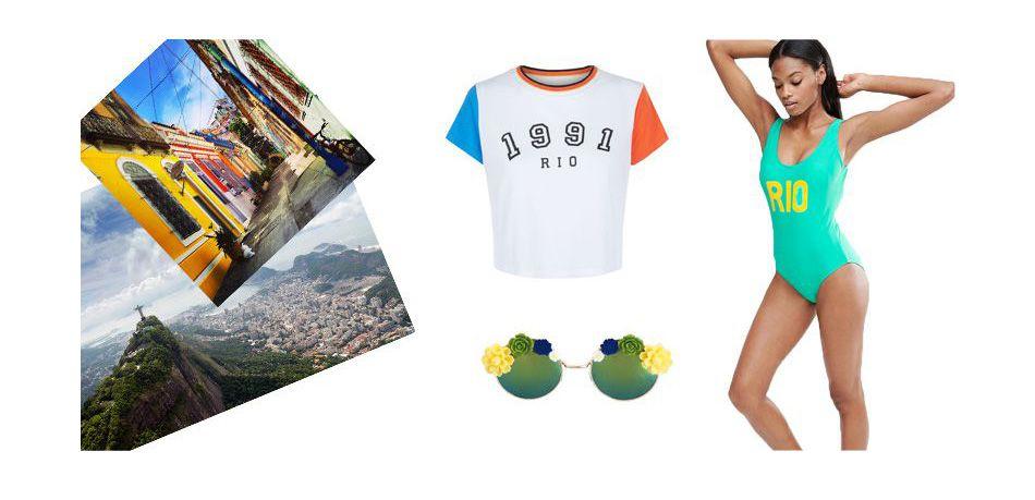 La mode se met aux couleurs de Rio.