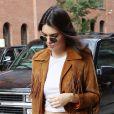 Sur Snapchat, Kendall a révélé un nouveau style capillaire.