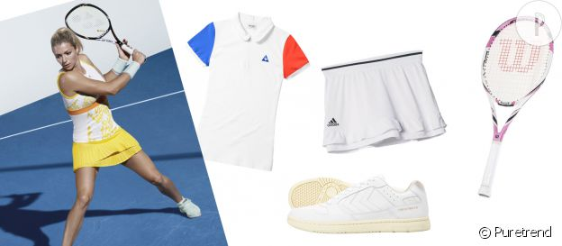 Planche inspiration shopping TENNIS