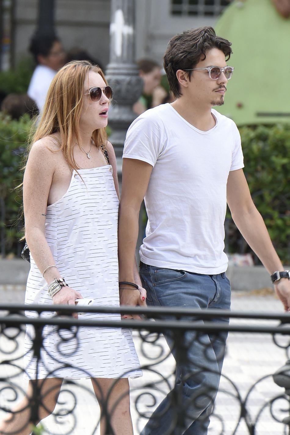 Lindsay et Egor étaient ensemble depuis plus de huit mois.