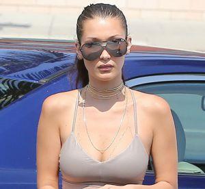 Bella Hadid : sexy en tenue de sport moulante à Beverly Hills