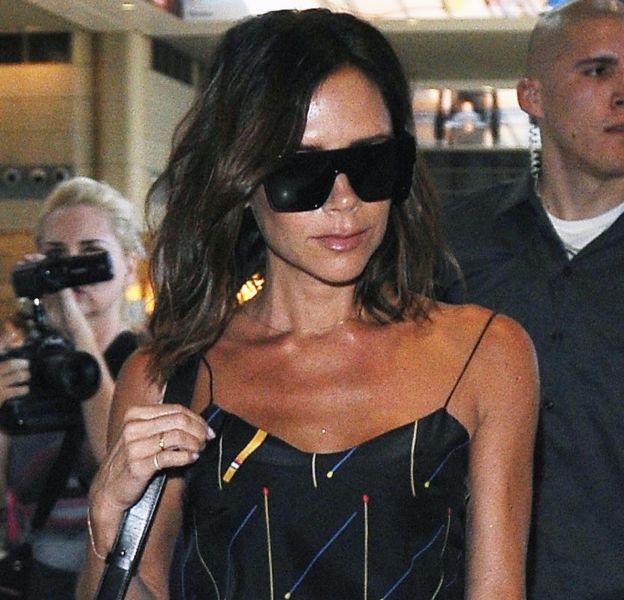Victoria Beckham est plus stylée que jamais à l'aéroport de L.A. le 31 juillet.
