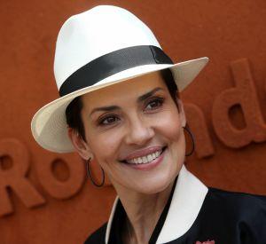 Cristina Cordula à Roland-Garros à Paris le 25 mai 2016.