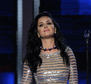 Katy Perry a préféré garder son bikini.