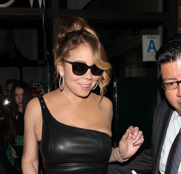 Mariah Carey fait fort pour la promotion de son émission de téléréalité.