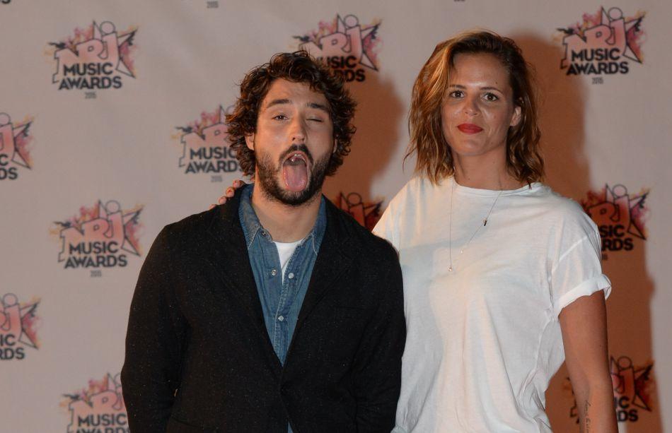 Laure Manaudou et son compagnon Jérémy Frérot aux NRJ Music Awards 2015 au Palais des Festivals à Cannes, le 7 novembre 2015.