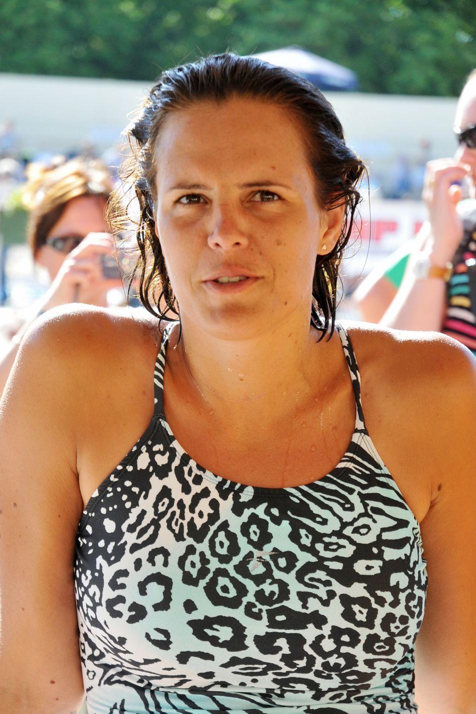 Laure Manaudou sera la supportrice numéro 1 de son frère Florent.