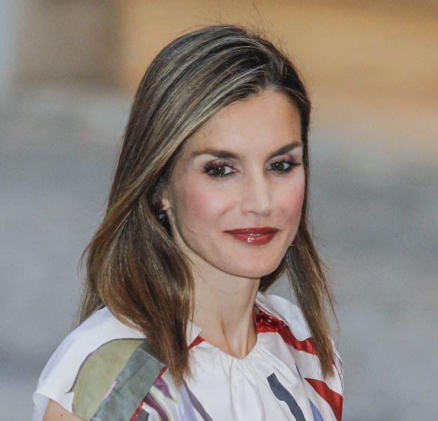 La reine Letizia d'Espagne de sortie officielle à Majorque le 7 août.
