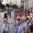 La reine Letizia d'Espagne ne s'offre pas un look sans faute.