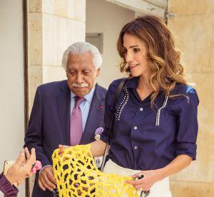 Rania de Jordanie : le chic à l'état pur en jupe-culotte crème