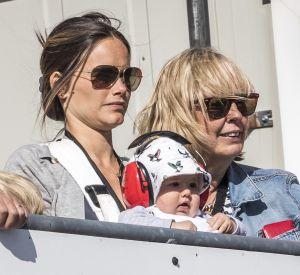 La paire était venue assister à une course automobile à Karlskoga ce 14 aout 2016.