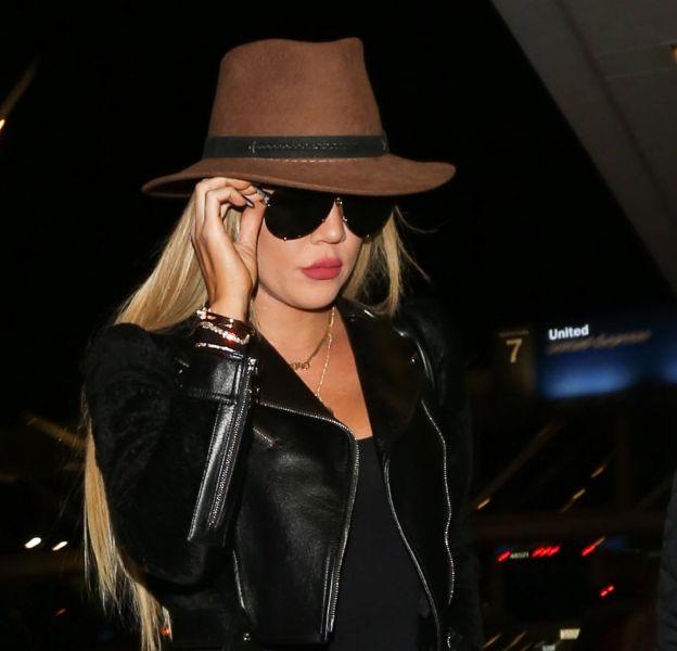 Khloe Kardashian à l'aéroport de Los Angeles le 20 octobre 2016.